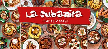 21_Dinerbon t.w.v. €20,- bij La Cubanita naar keuze